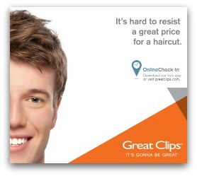 great clips image resized & shadow