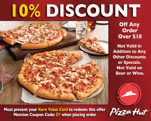 Complete Pizza Hut in Bakersfield, California locations and hours of operation. Pizza Hut opening and closing times for stores near by. Address, phone number, directions, and more.