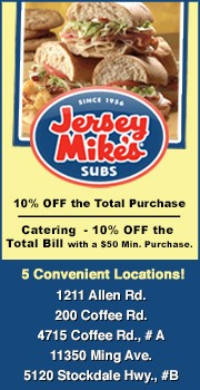 Jersey Mike's Subs – 2 Locations.